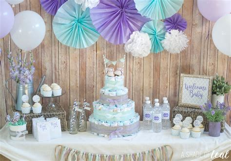 Cake Diapers Baby Shower by Rustic Glam Baby Shower Plus Make A Cake A Shade