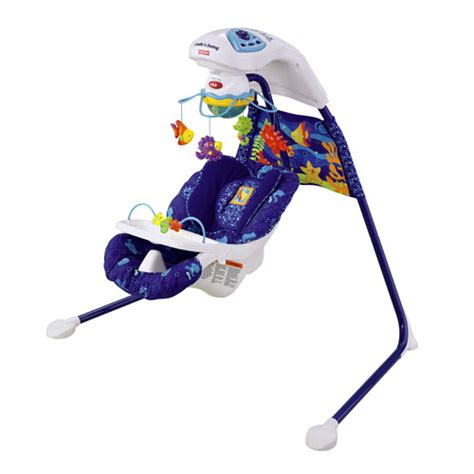 aquarium cradle swing fisher price jouets articles pour b 233 b 233 s baby gear guide pour les