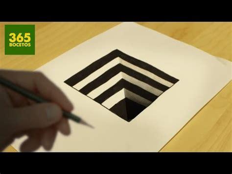ilusiones opticas faciles de dibujar como dibujar un hoyo con ilusi 243 n 243 ptica