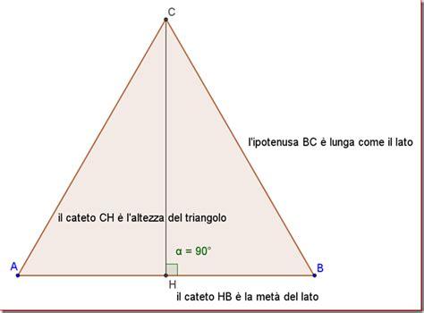 quanto misurano gli angoli interni di un triangolo come calcolare l area di un triangolo equilatero sapendo