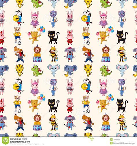 pattern animal vector seamless animal pattern royalty free stock photo image