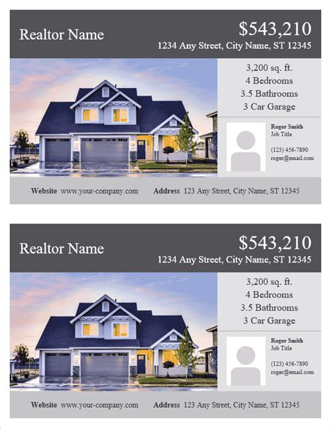 real estate brochure templates free csoforum info