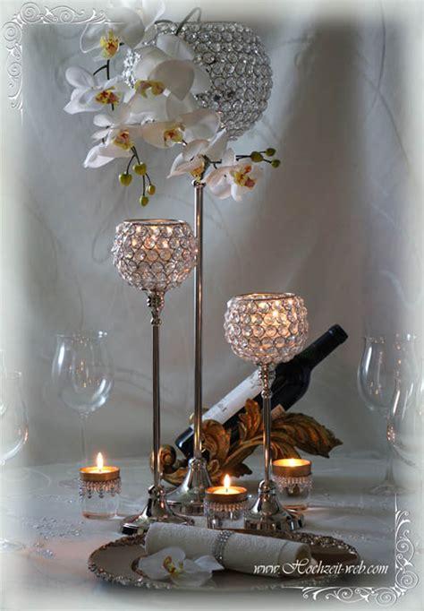Besondere Hochzeitsdeko by Besondere Hochzeitsdeko Mit Kristallst 228 Nder F 252 R 246 Se