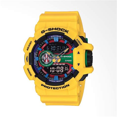Tali Jam Sport Digital G Shock Hsd14 jual best price casio g shock analog digital multifunction jam tangan pria yellow ga 400