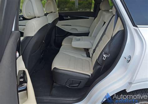 How Many Seats Does The Kia Sorento 2016 Kia Sorento Sxl Limited Awd V6 Review Test Drive