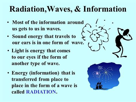 information about light energy information from the cosmos ppt