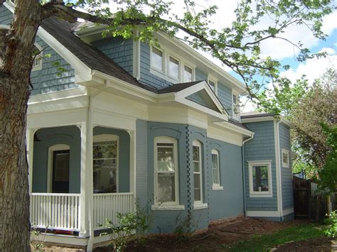 great exterior re paint on newly updated historic home in downtown boulder maurerpainting