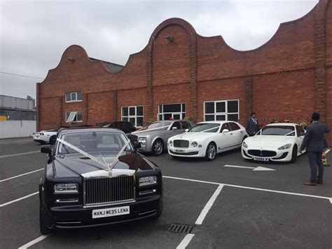 Wedding Car Hire Leicester by Prom Car Hire Phantom Hire Leicester