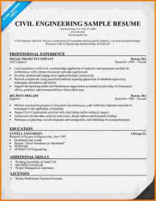 sle resume civil engineer