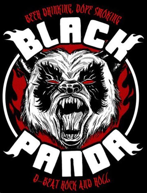 St Pandablack black panda pacitan