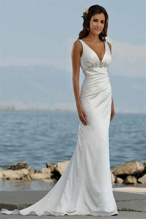 Womens White Dress / Fit Flare Dress / Casual By