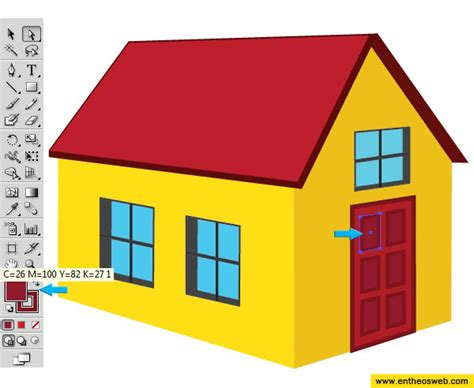 home design 3d objects learn how to create a 3d house vector in illustrator entheos