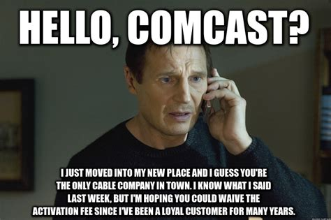 Cable Meme - cable company mandatory