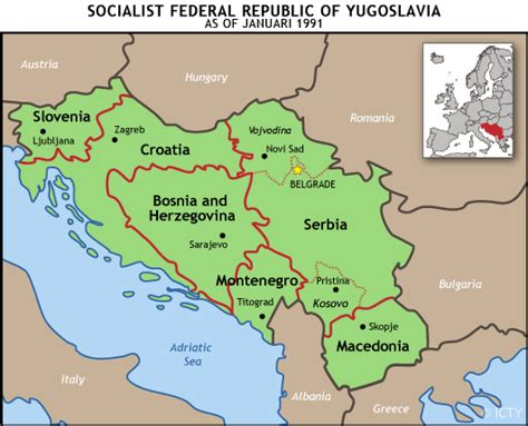 What Country Made What Is The Former Yugoslavia International Criminal