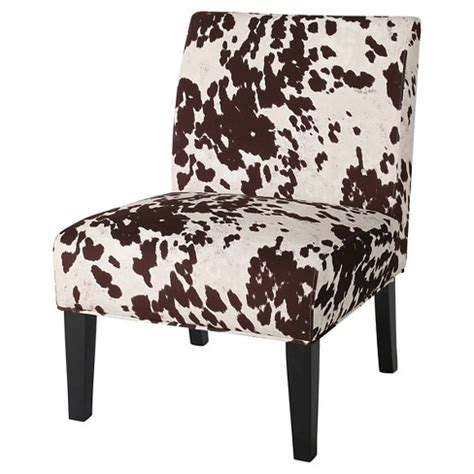 Cowhide Dining Chairs - saloon cowhide print dining chair milk cow christopher