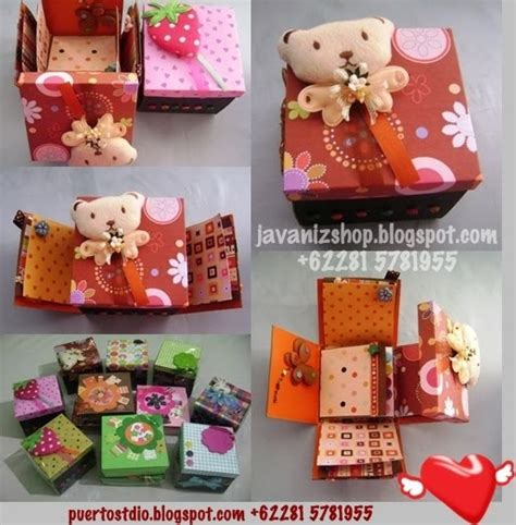Gift Box Kado Natal Tahun Baru Hadiah Murah Smoothies Pink 40k toko kado javaniz shop scrapbook unik kreatif