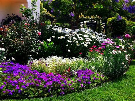 flower bed designs and best tips for applying actual home