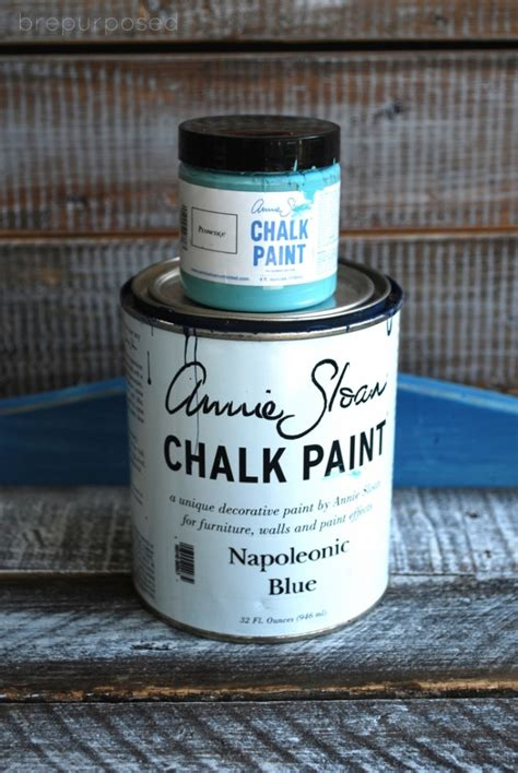 chalk paint blue table transformation with custom blue chalk paint the
