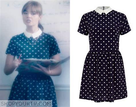 Maxi Clara Polka blue spotty tea dress best dressed
