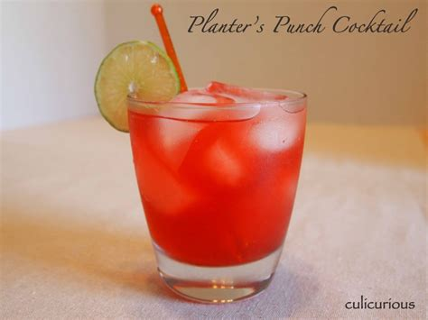 Planter Punch Recipe by Planter S Punch Recipe Culicurious