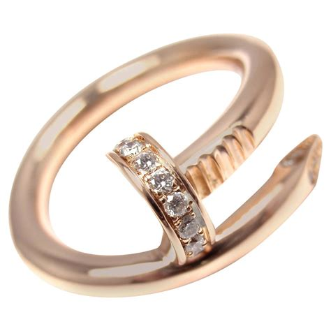 Band Rings by Cartier Juste Un Clou Gold Nail Band Ring At 1stdibs