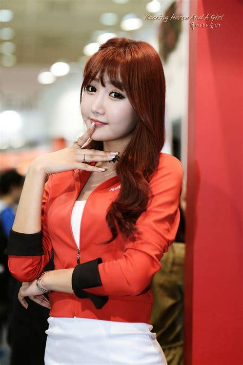 korean race queens jo in young at photo amp imaging korea 2014