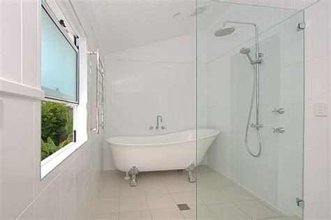 Queenslander Bathroom by Queenslander Renovation Townsville Bathroom