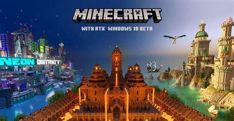 minecraft rtx gameplay screen rant