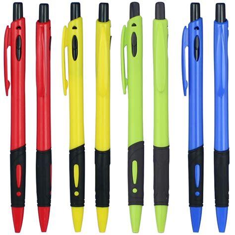 wholesale lot 50pcs plastic ballpoint pen with rubber