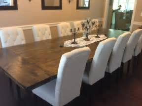 diy dining room chairs in the house diy rustic dining room
