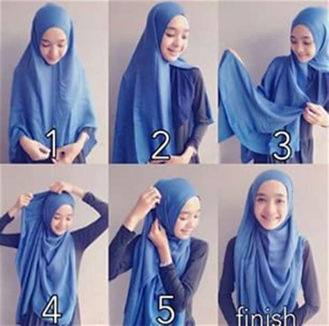 tutorial hijab syar i sederhana gambar tutorial hijab modern syar i contoh model baju