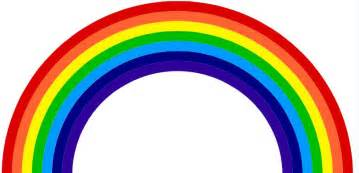 7 colors of the rainbow a rainbow is an optical illusion a person has when seeing