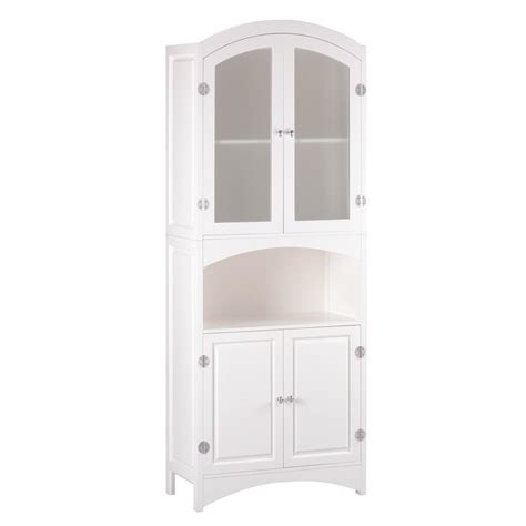 Cheap Linen Cabinets by Wholesale Bathroom Linen Cabinet Glass Doors White Wood