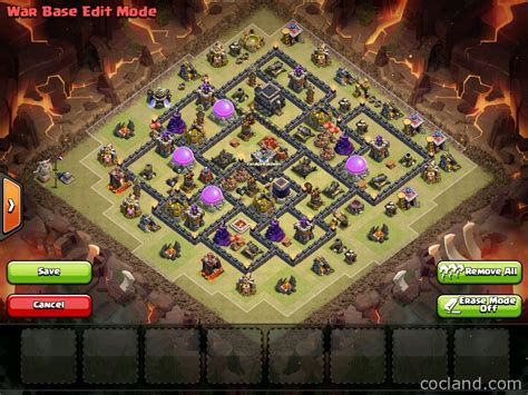 th9 layout strategy strategy th9 war base triton anti 3 star hanya yang