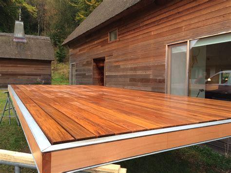 terrasse teak ny terrasse i teak eller jaktoba holte birker 248 d og n 230 rum