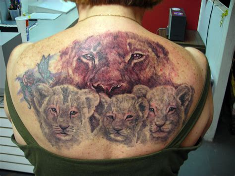 lion and lioness tattoo and lioness tattoos for
