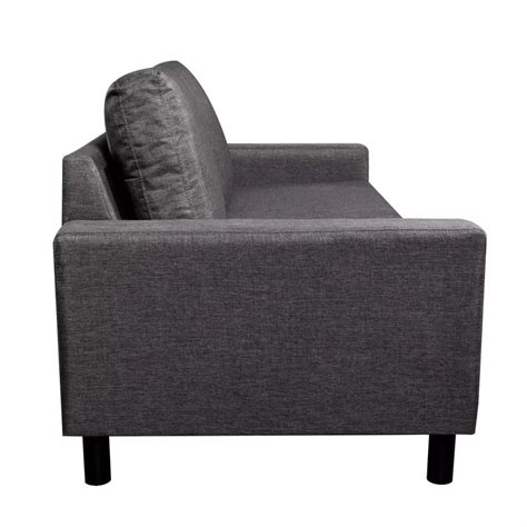 divani a tre posti divano a tre posti grigio scuro vidaxl it