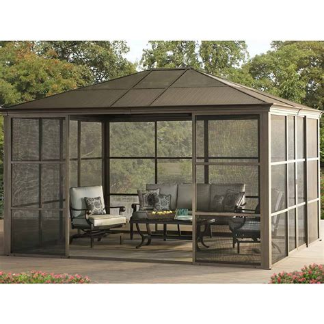 outdoor screen room conner screen room 12 x 14 outdoor room easy install