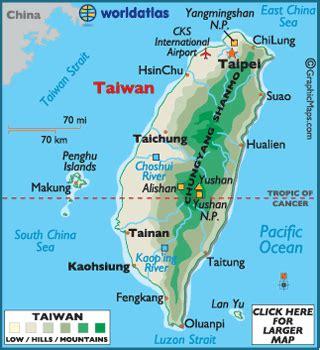 taiwan map asia taiwan map geography of taiwan map of taiwan