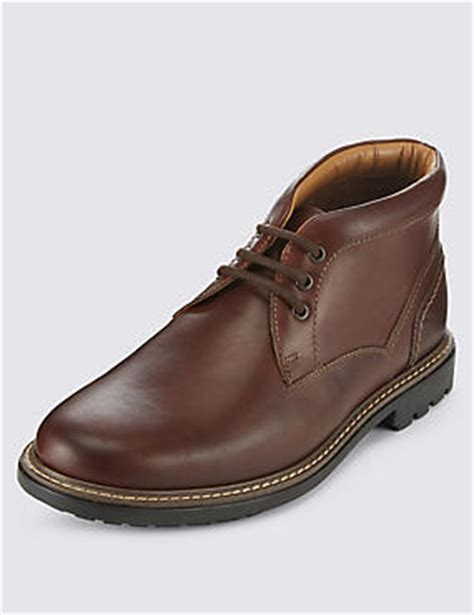 m s mens boots mens boots leather chukka brogues boots for m s