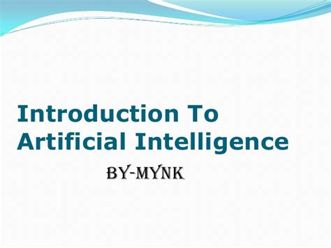 introduction to artificial intelligence undergraduate topics in computer science books artificial intelligence