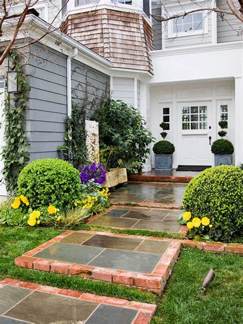 landscaping walkway to front door curb appeal on a dime walkways fresh and stones