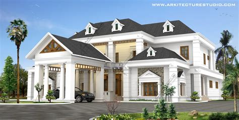colonial home designs kerala home design house plans indian budget models