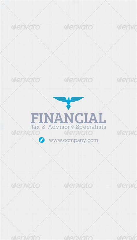 Finance Business Card Template by Financial Business Card Template By Grafilker Graphicriver