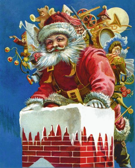 chimney santa wooden jigsaw puzzle liberty puzzles