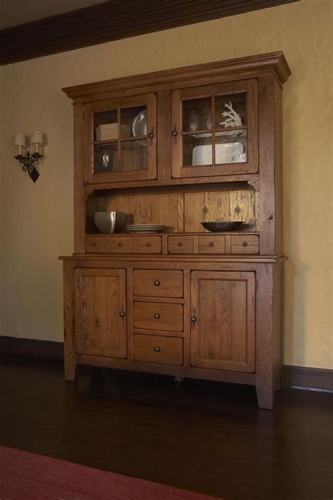 Oak Dining Room Hutch And Buffet Attic Heirlooms Oak China Hutch And Buffet