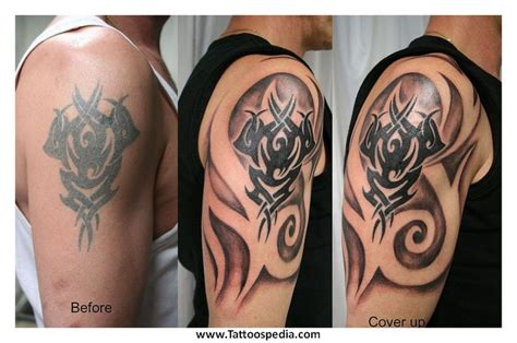 how to cover a tribal tattoo best 20 tribal cover up ideas on