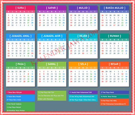 kalender jawa  lengkap hari pasaran weton  wuku kalender kreatif