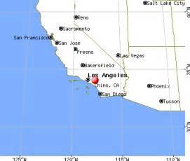 chino california map chino california ca profile population maps real