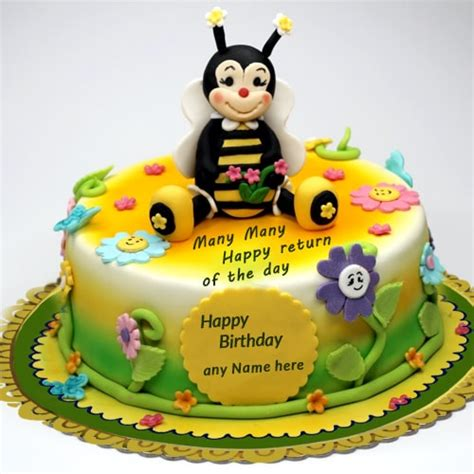 cartoon birthday cake  kids